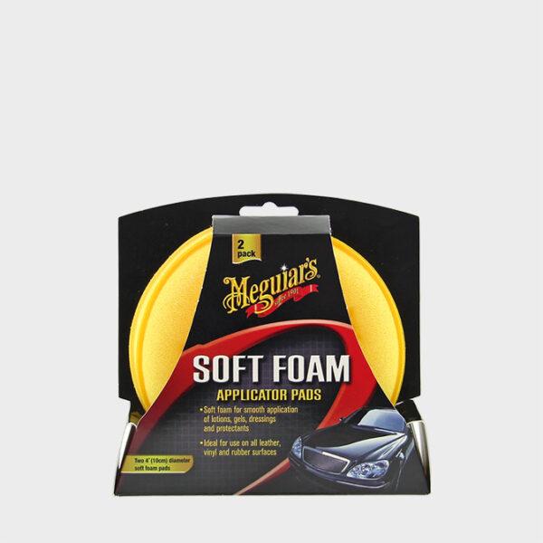 aplicadores espuma meguiars soft foam