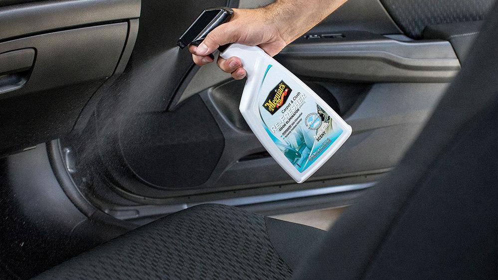 eliminador de olores coche meguiars refresher