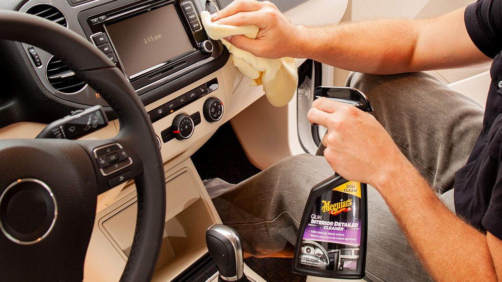 limpia interior coche meguiars quick interior detailer cleaner
