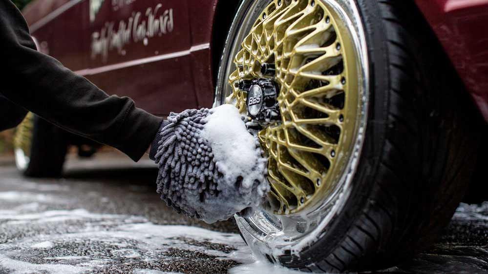 limpia llantas auto finesse revolution