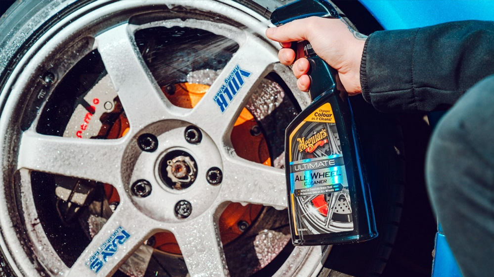 limpia llantas coche meguiars ultimate all wheel cleaner
