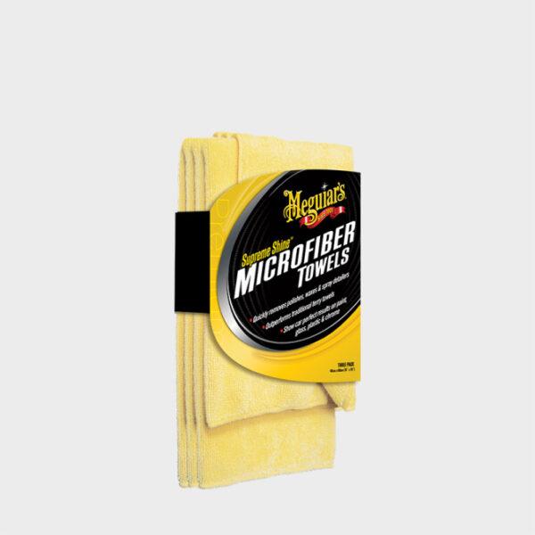 toalla microfibra meguiars supreme shine 3 unidades
