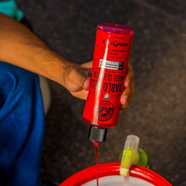 limpia llantas chemical guys diablo gel oxygen