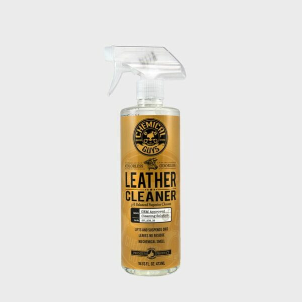 limpier asientos cuero coche chemical guys leather cleaner 473ml