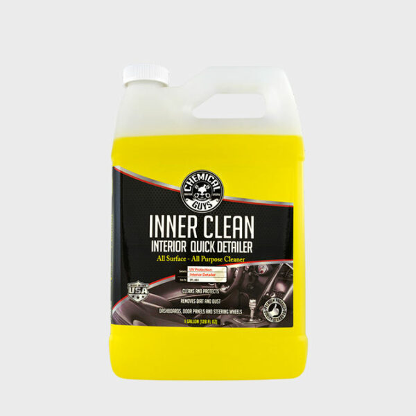 limpieza interior coche chemical guys innerclean quick detailer 3,78l