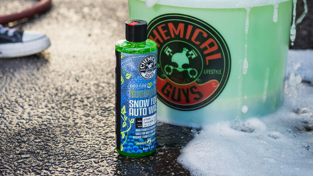 snow foam prevalado chemical guys honeydew