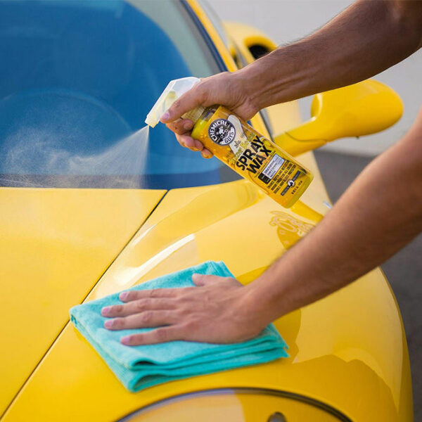 cera carnauba chemical guys blazin banana spray wax