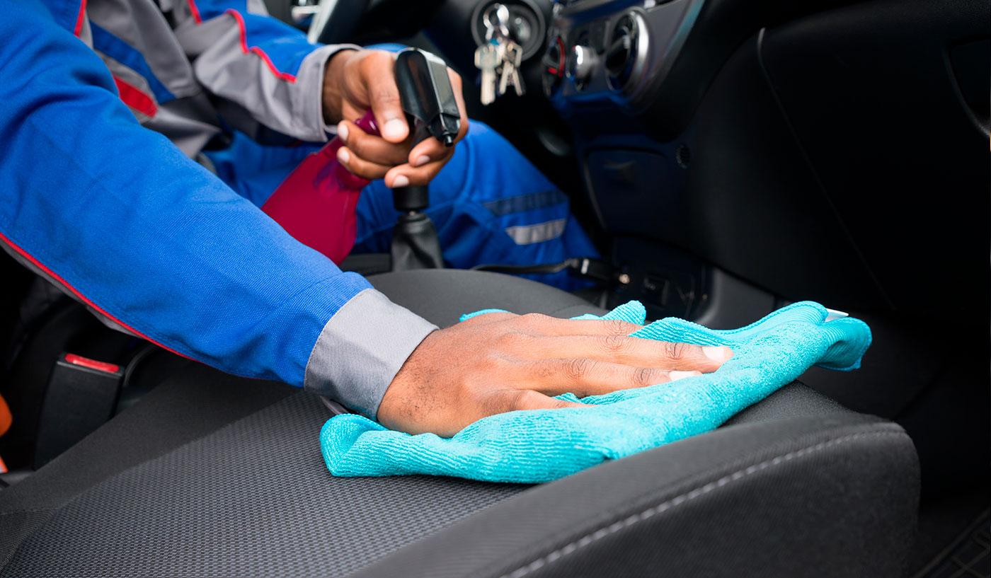 productos para limpiar la tapiceria tela coche