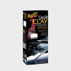kit descontaminante pintura meguiars quik detailer claybar