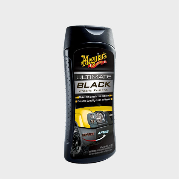 restaurador plasticos exterior meguiars ultimate black