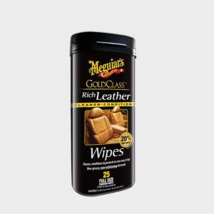toallitas cuero meguiars gold class rich leather