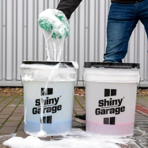 cubo lavar coche shiny garage