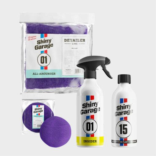 Kit de Limpieza para el Interior del Coche Shiny Garage 1
