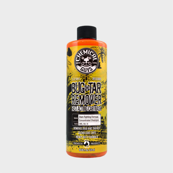 limpia mosquitos chemical guys bug tar remover 473ml