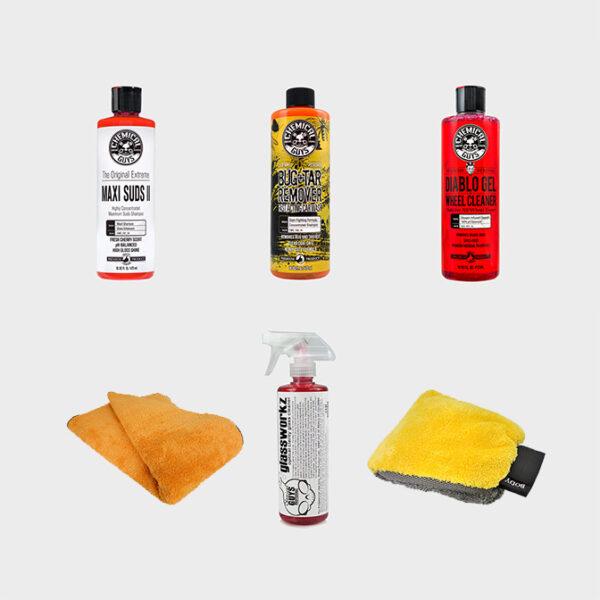 kit limpieza coche profesional