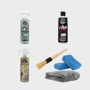 kit limpieza interior coche profesional