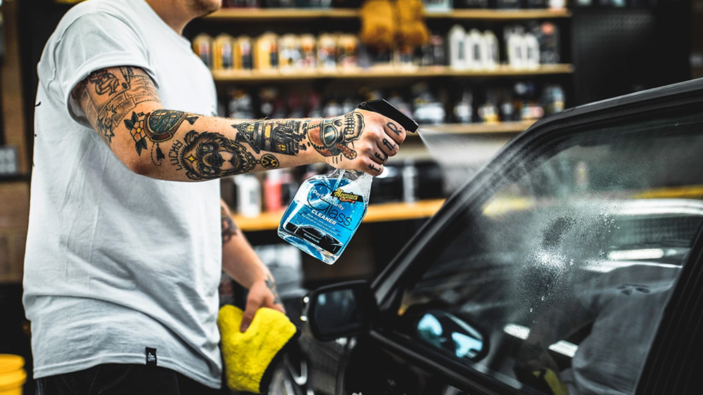 limpia cristales meguiars perfect clarity glass cleaner