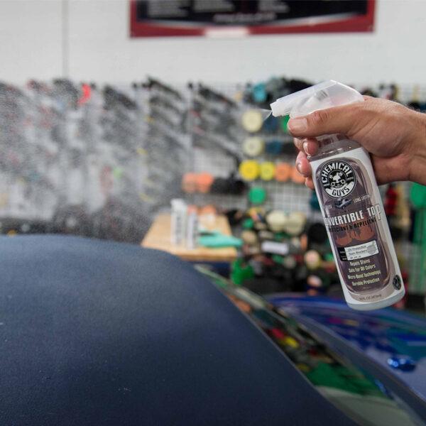 chemical guys convertible top protectant repellant