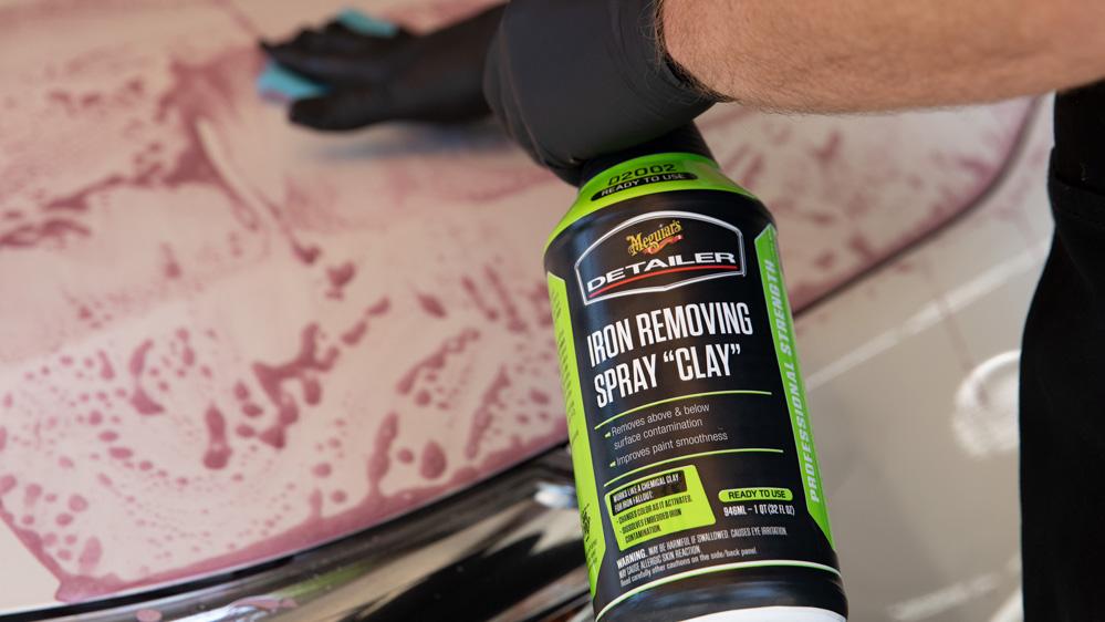 meguiars iron removing spray clay