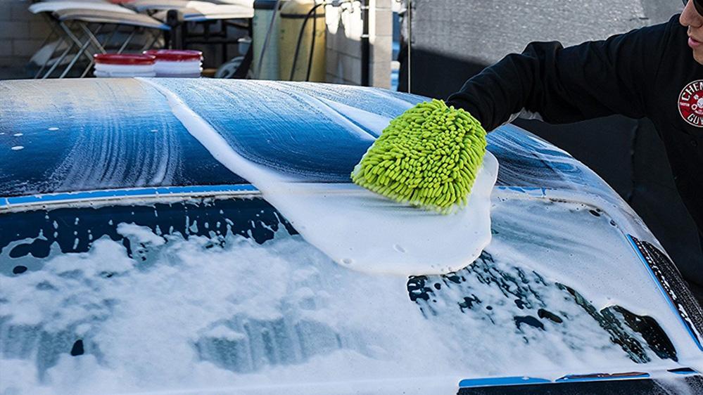 chemical guys chenille wash mitt