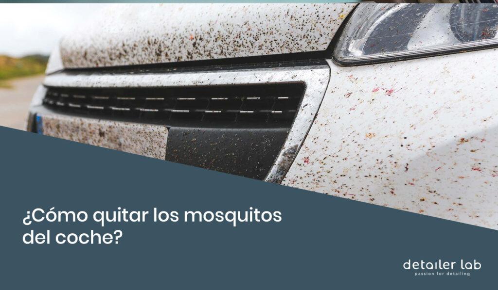 como quitar los mosquitos del coche