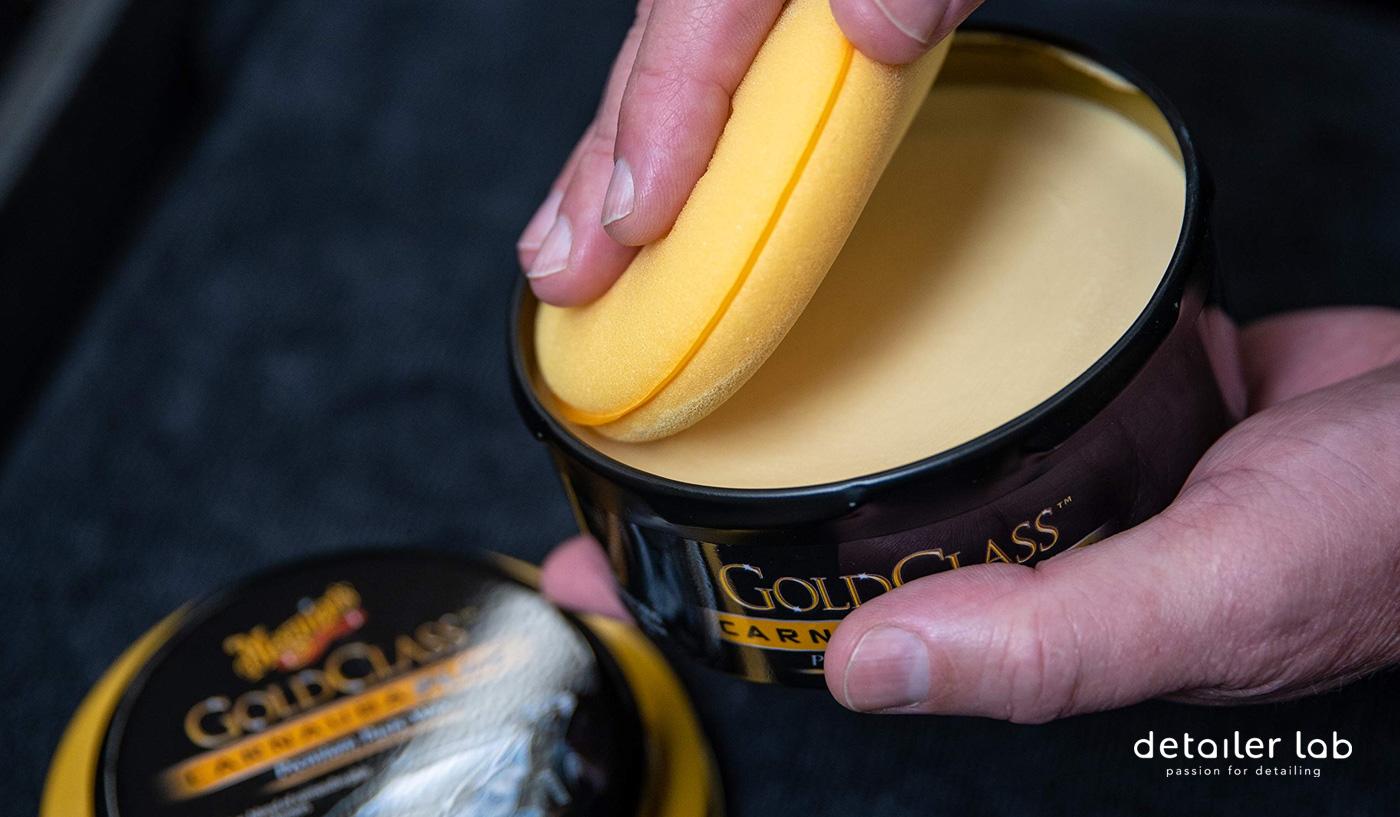 meguiars gold class paste wax