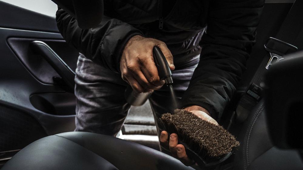 sams detailing leather brush