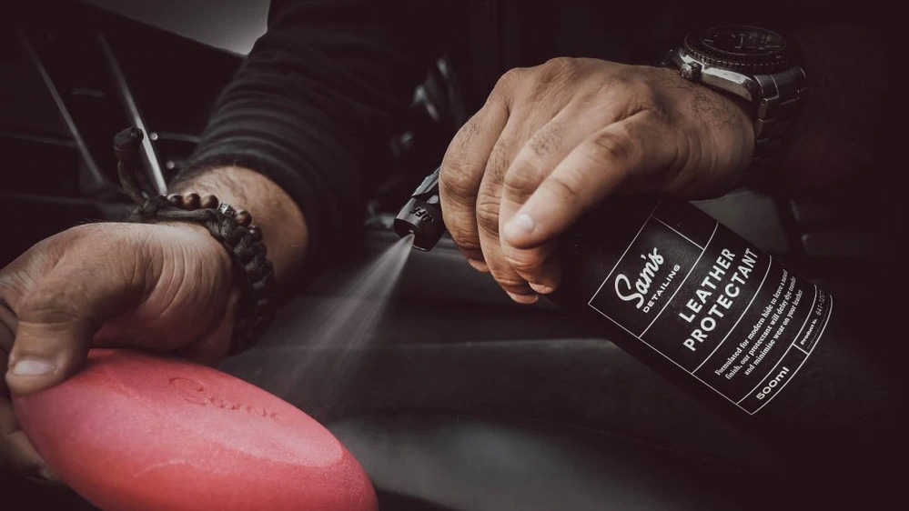 sams detailing leather protectant