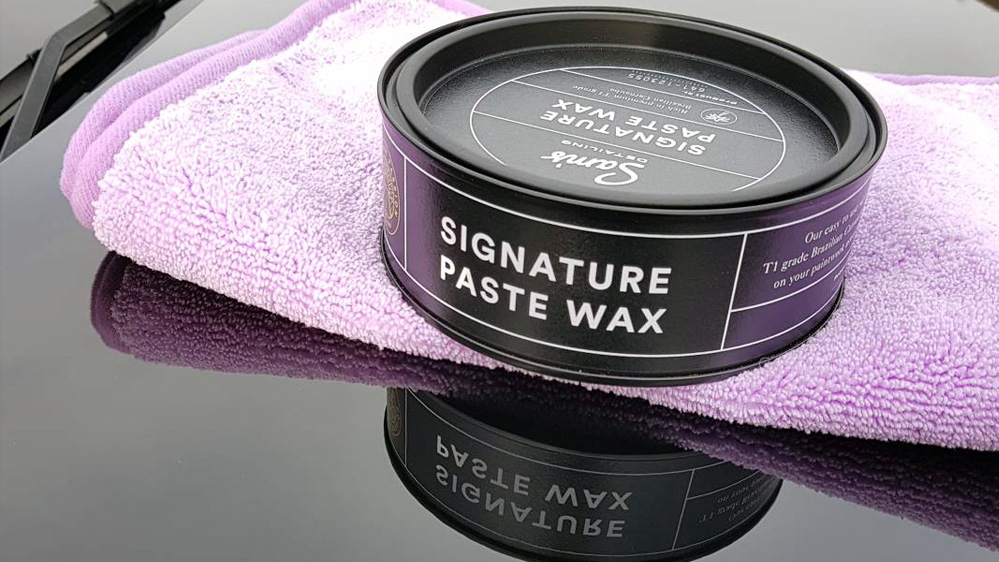 sams detailing signature paste wax
