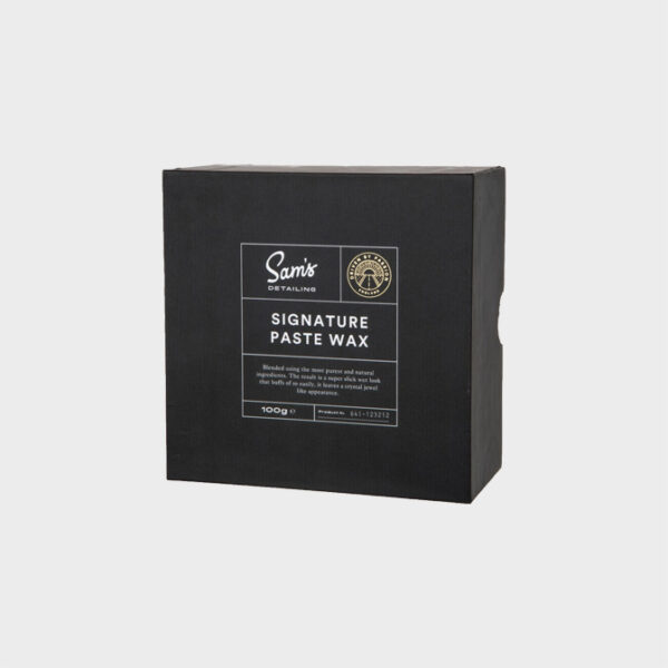 sams detailing signature paste wax 100gr