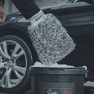Guante para lavar el coche
