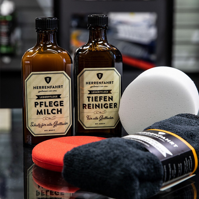 herrenfahrt luxury kit leather care