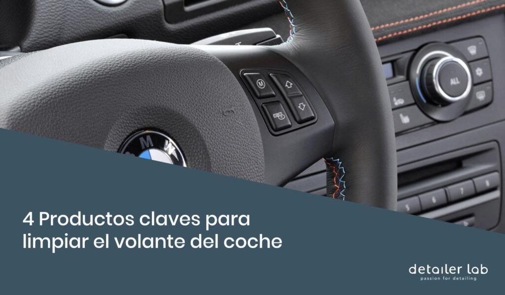 productos para limpiar el volante del coche