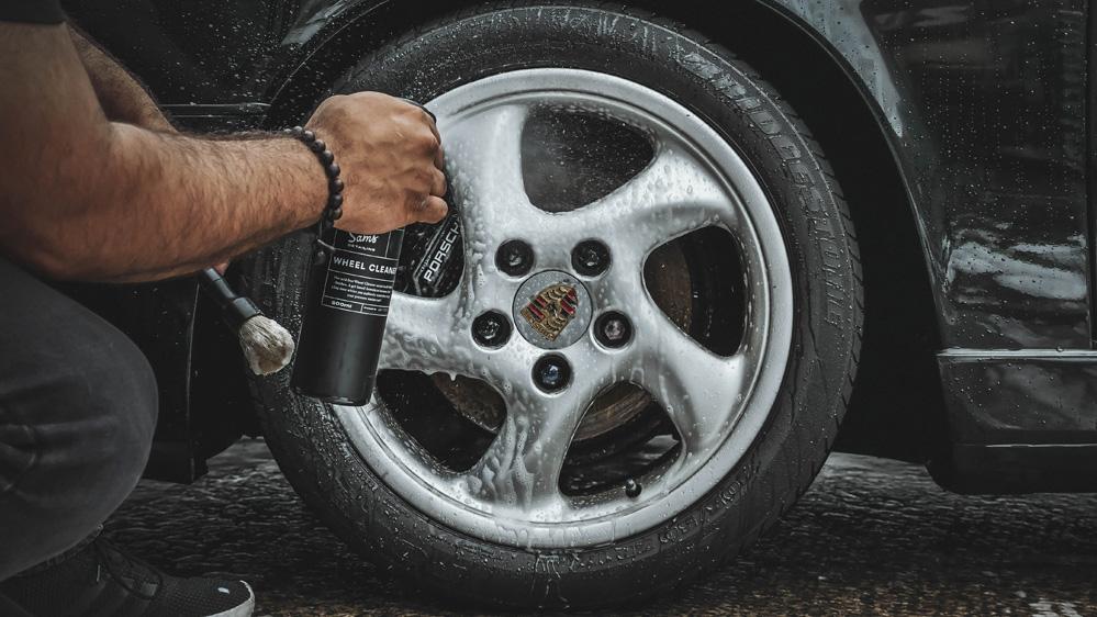 sams detailing wheel cleaner