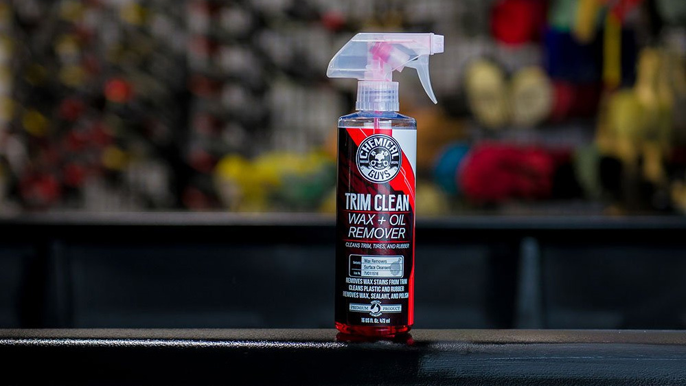 chemical guys trim clean wax oil remover