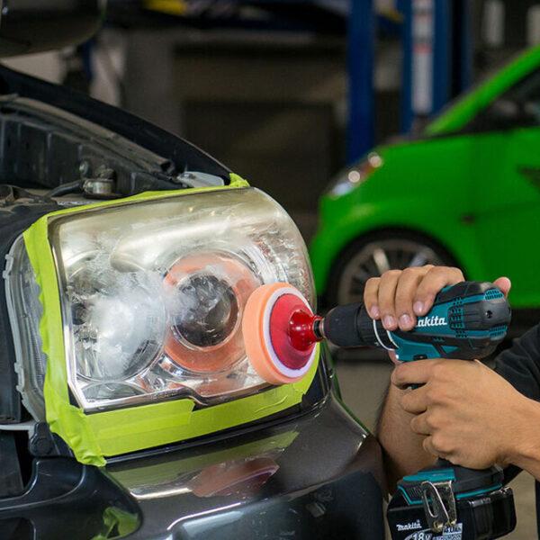 chemical guys headlight restorer