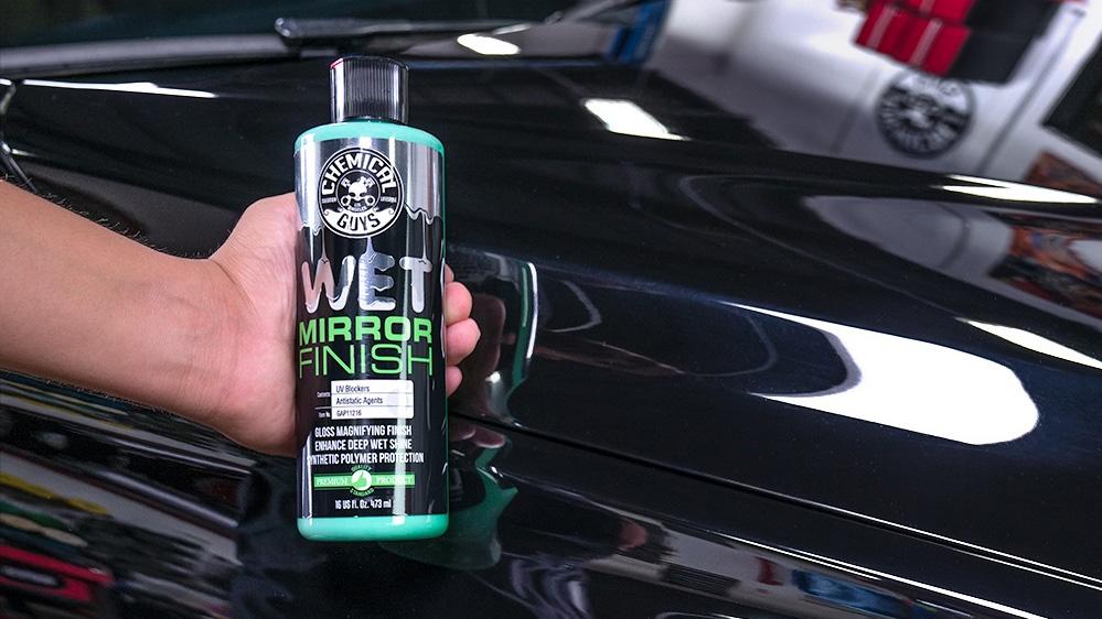 chemical guys wet mirror finish