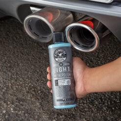 pulimento limpiar oxido coche