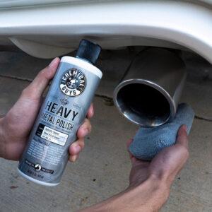 pulimento metales coche