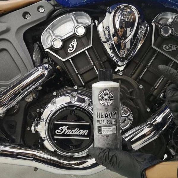 pulimento metales moto
