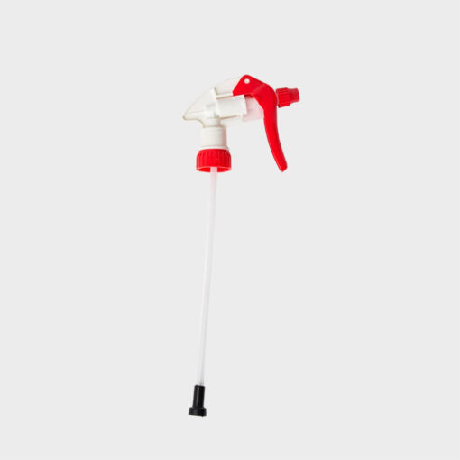 gatillo pulverizado disolventes rojo