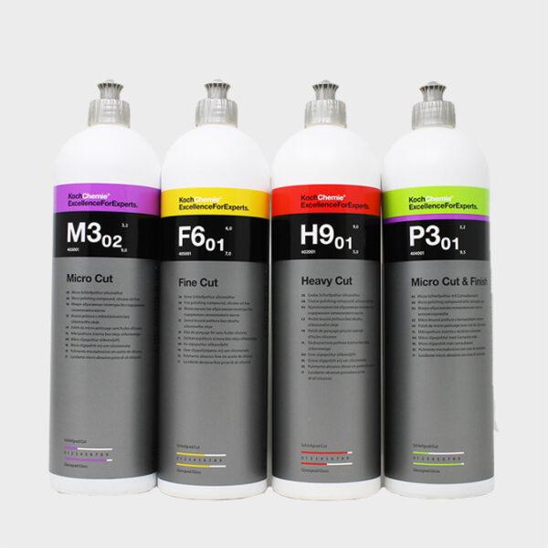kit pulimentos koch chemie 1 litro