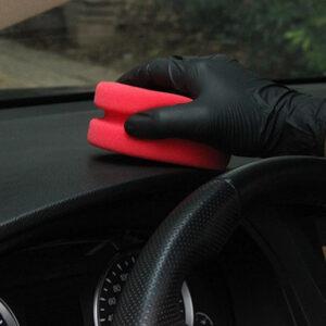 aplicador espuma plastico coche
