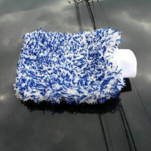 guante lavar coche microfibra