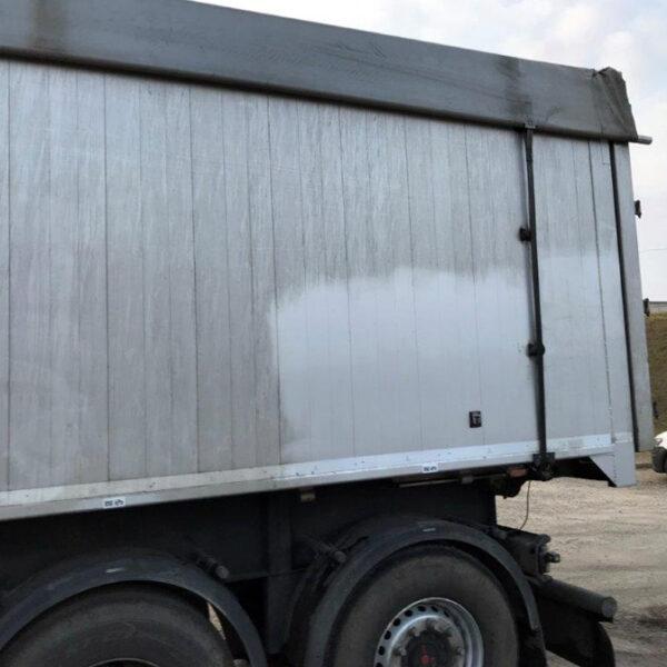 limpiar lonas camion