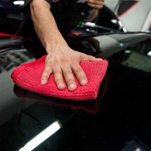 toalla coche waffle