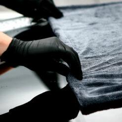 toalla secado coche
