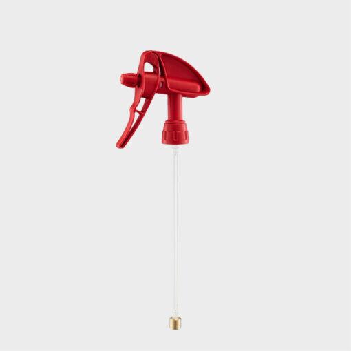 gatillo pulverizador mercury super 360 rojo