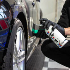 shiny garage back2black polymer tire dressing