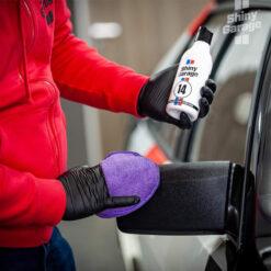 shiny garage jet black trim restorer